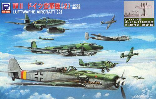 WW2 ドイツ空軍機 2 スペシャル メタル製 Me210/410 3機付きプラモデル(ピットロードスカイウェーブ S シリーズ (定番外)No.S019SP)商品画像