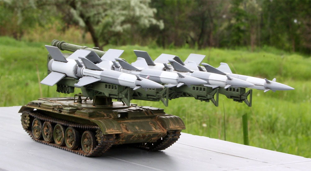 S-125M ネヴァー SC /T-55 自走地対空ミサイルプラモデル(A&A MODELS1/72 プラスチックモデルNo.7217)商品画像_3
