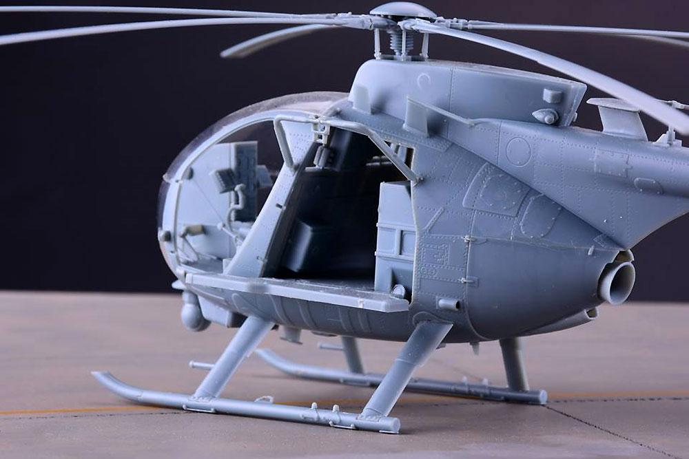 AH-6M/MH-6M リトルバード ナイトストーカーズプラモデル(キティホーク1/35 エアモデルNo.KH50002)商品画像_3