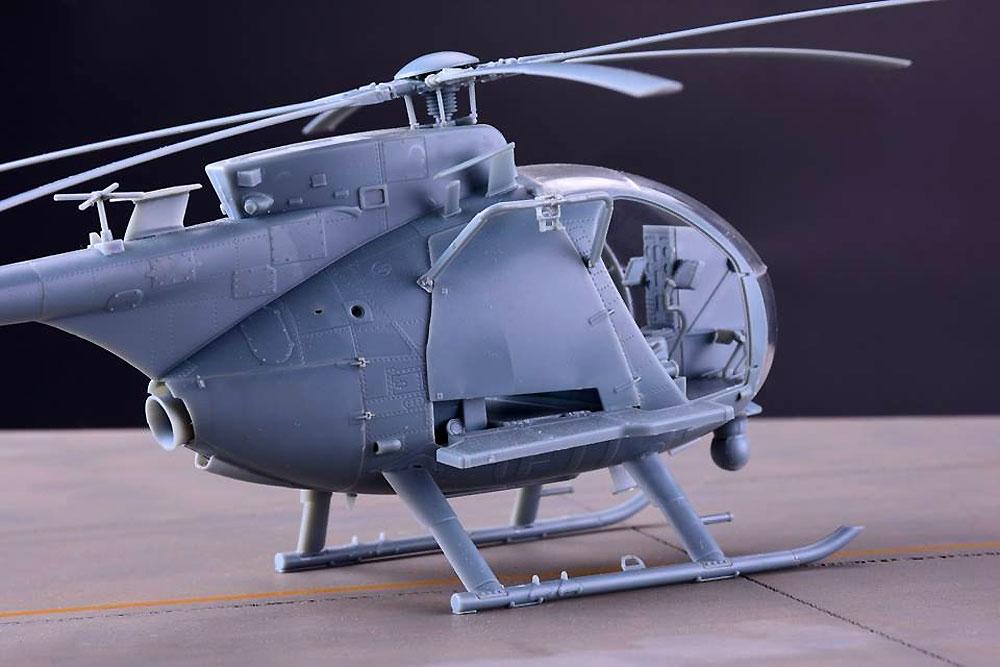 AH-6M/MH-6M リトルバード ナイトストーカーズプラモデル(キティホーク1/35 エアモデルNo.KH50002)商品画像_4