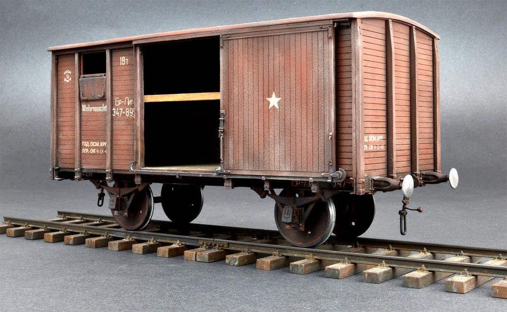 18トン NTV型 有蓋貨車プラモデル(ミニアート1/35 WW2 ミリタリーミニチュアNo.35288)商品画像_1