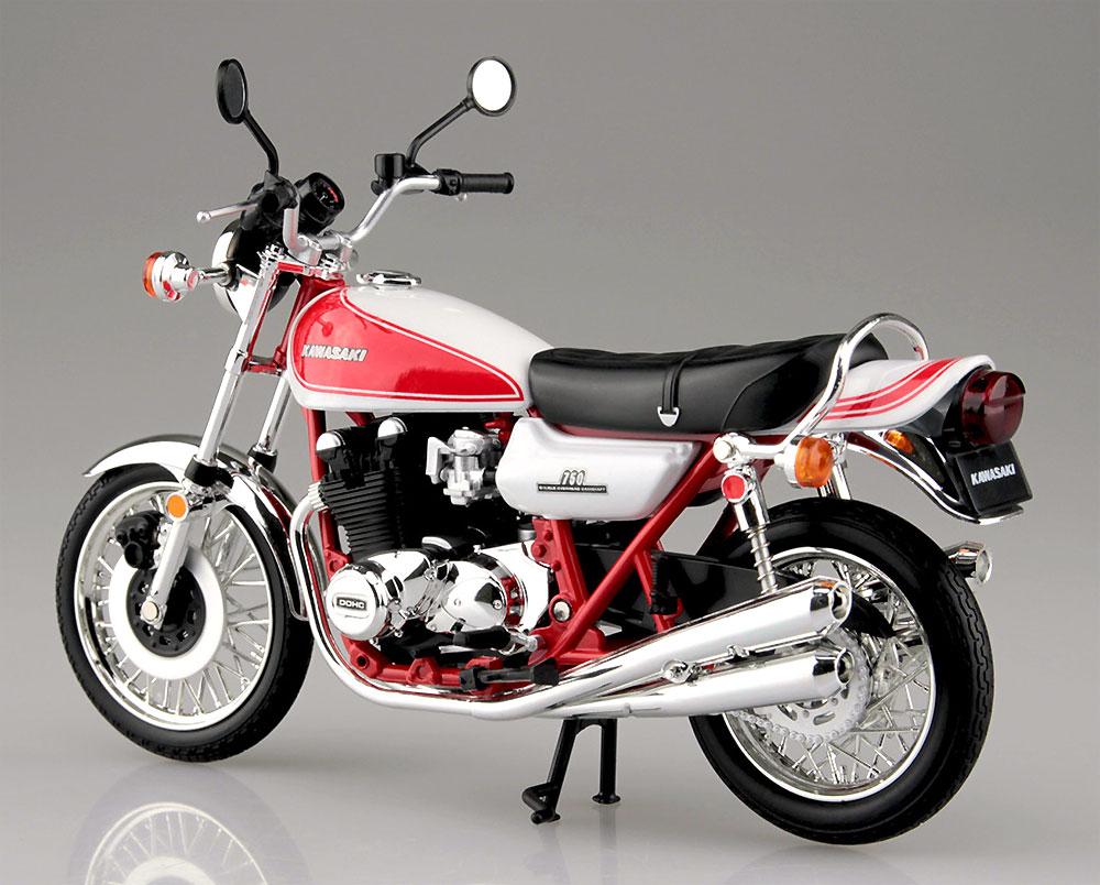 カワサキ 750RS (Z2) 赤白カラー完成品(アオシマ1/12 完成品バイクシリーズNo.105955)商品画像_3