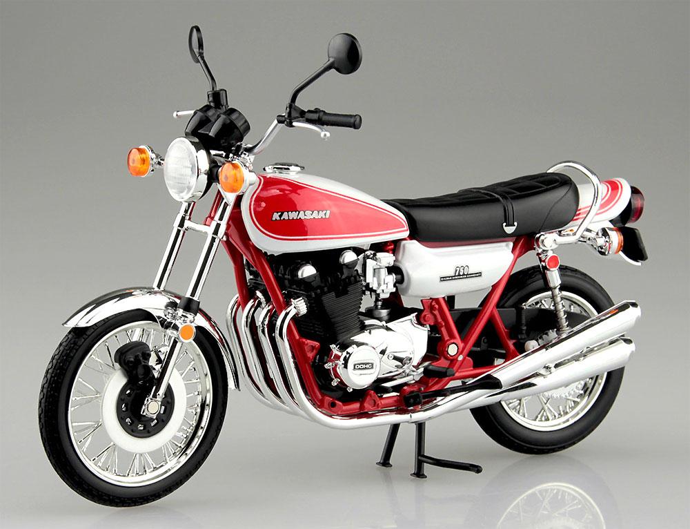 カワサキ 750RS (Z2) 赤白カラー完成品(アオシマ1/12 完成品バイクシリーズNo.105955)商品画像_4