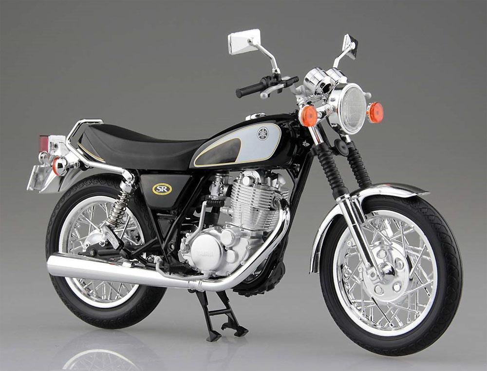 ヤマハ SR400 & 500 グリタリングブラック完成品(アオシマ1/12 完成品バイクシリーズNo.105856)商品画像_2