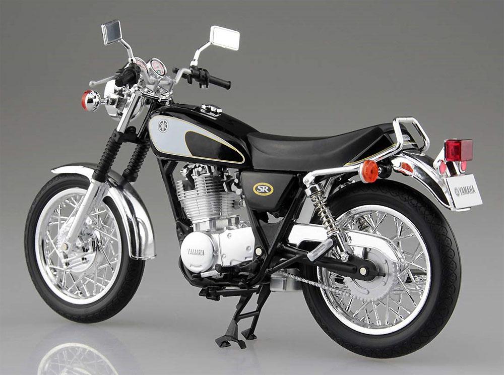 ヤマハ SR400 & 500 グリタリングブラック完成品(アオシマ1/12 完成品バイクシリーズNo.105856)商品画像_3