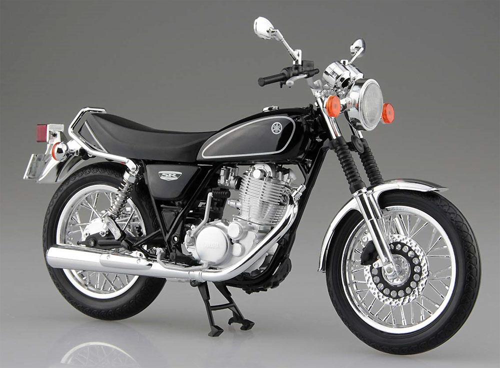 ヤマハ SR400 ヤマハブラック完成品(アオシマ1/12 完成品バイクシリーズNo.105870)商品画像_2