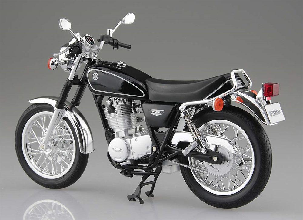 ヤマハ SR400 ヤマハブラック完成品(アオシマ1/12 完成品バイクシリーズNo.105870)商品画像_3