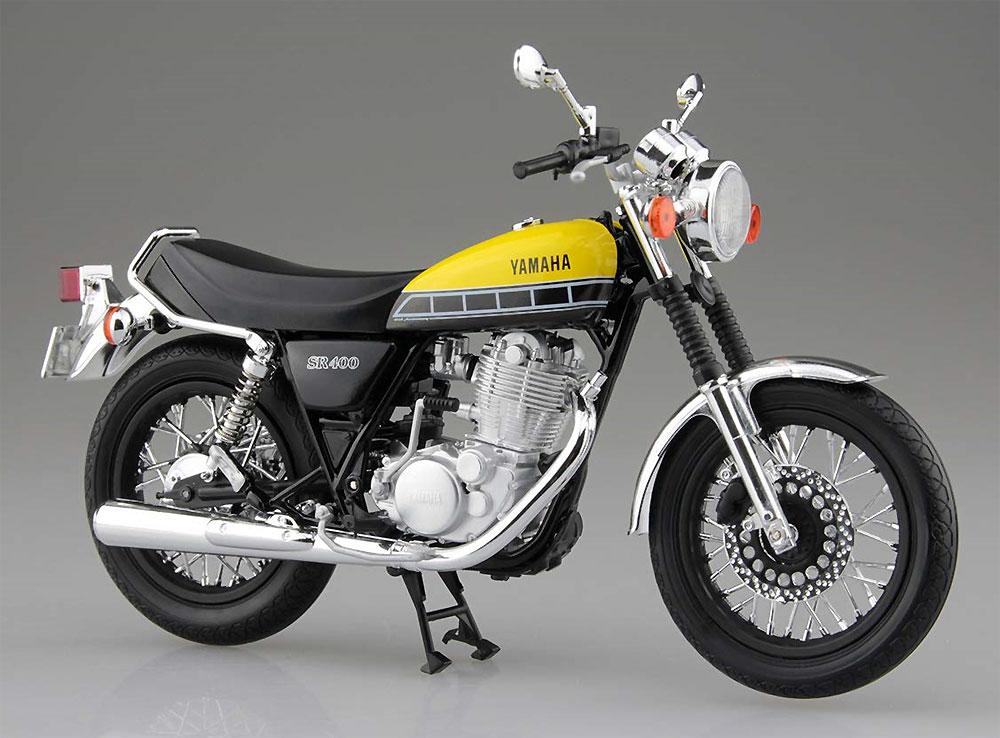 ヤマハ SR400 ライトレディッシュイエローソリッド完成品(アオシマ1/12 完成品バイクシリーズNo.105887)商品画像_2
