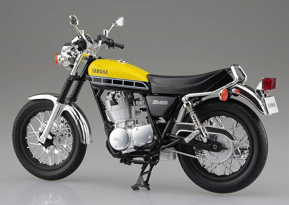 ヤマハ SR400 ライトレディッシュイエローソリッド完成品(アオシマ1/12 完成品バイクシリーズNo.105887)商品画像_3