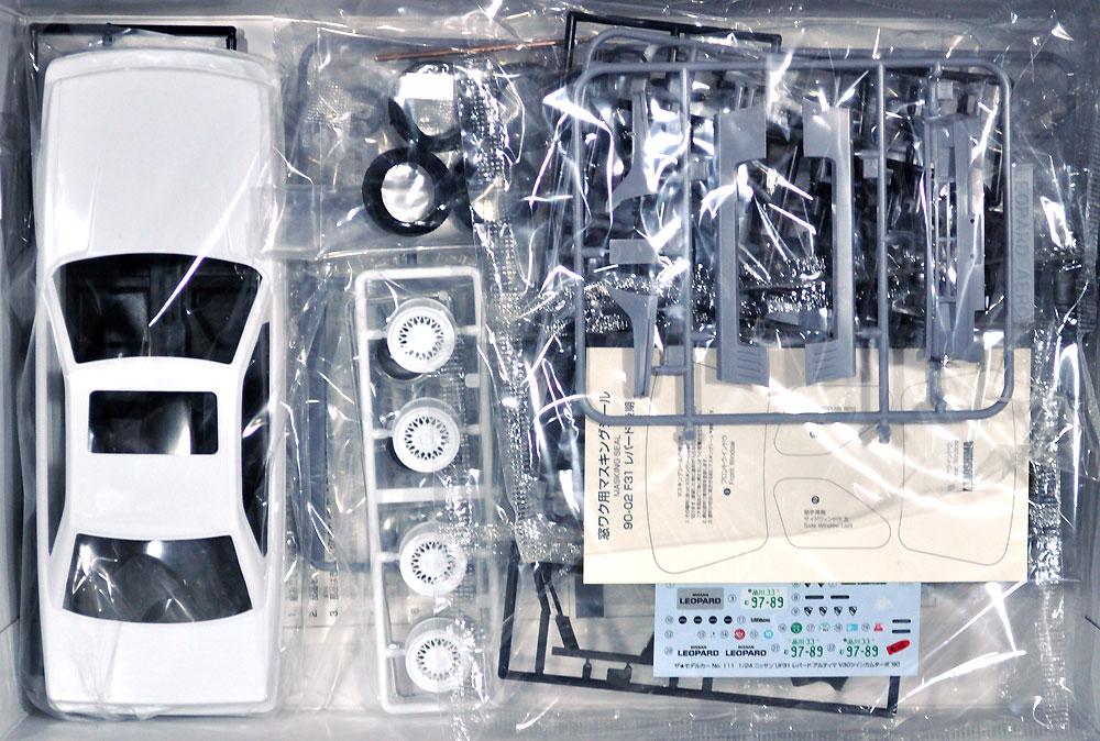 ニッサン UF31 レパード アルティマ V30 ツインカムターボ '90プラモデル(アオシマ1/24 ザ・モデルカーNo.111)商品画像_1