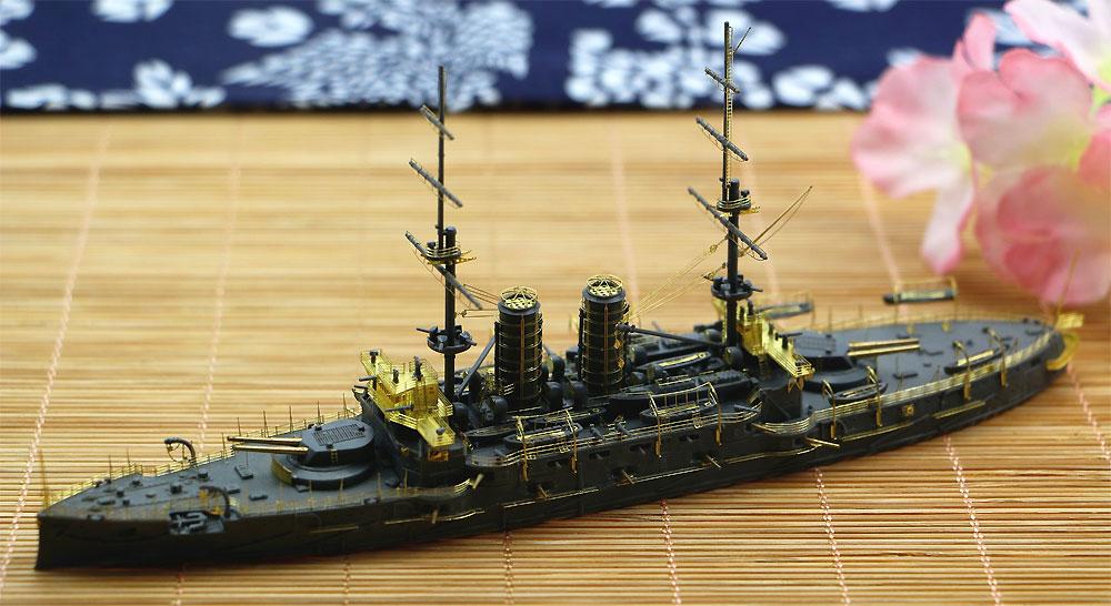 日本海軍 戦艦 三笠 スーパーディテール (ハセガワ用)エッチング(シップ ヤード ワークス1/700 ディテールアップパーツNo.700001)商品画像_1