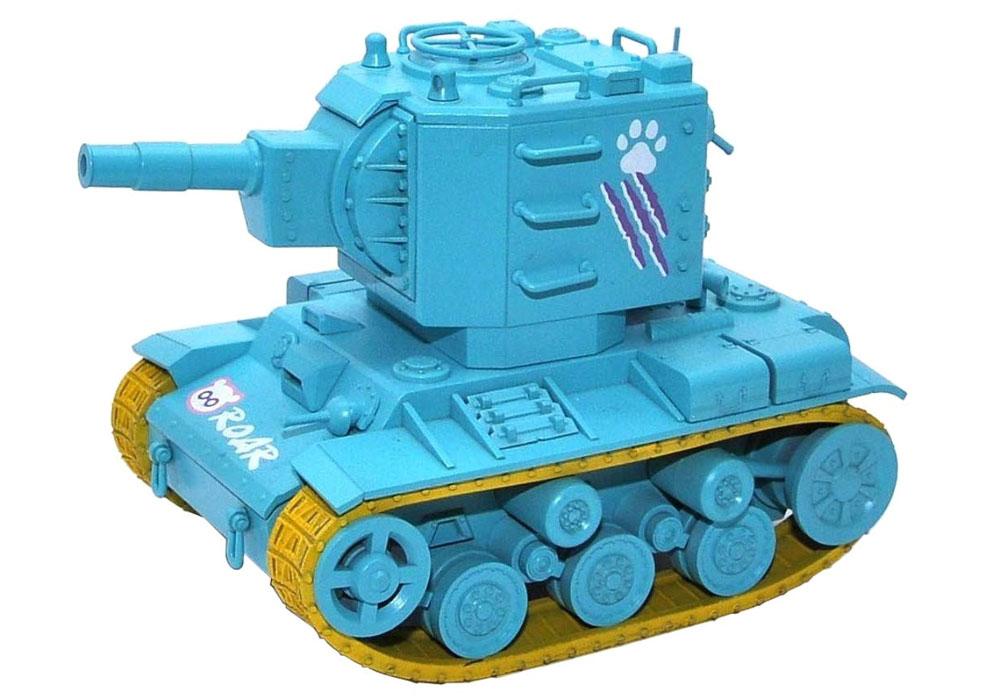 KV-2 ミントグリーンバージョン フィギュア付プラモデル(MENG-MODELWORLD WAR TOONSNo.WWP-004S)商品画像_2