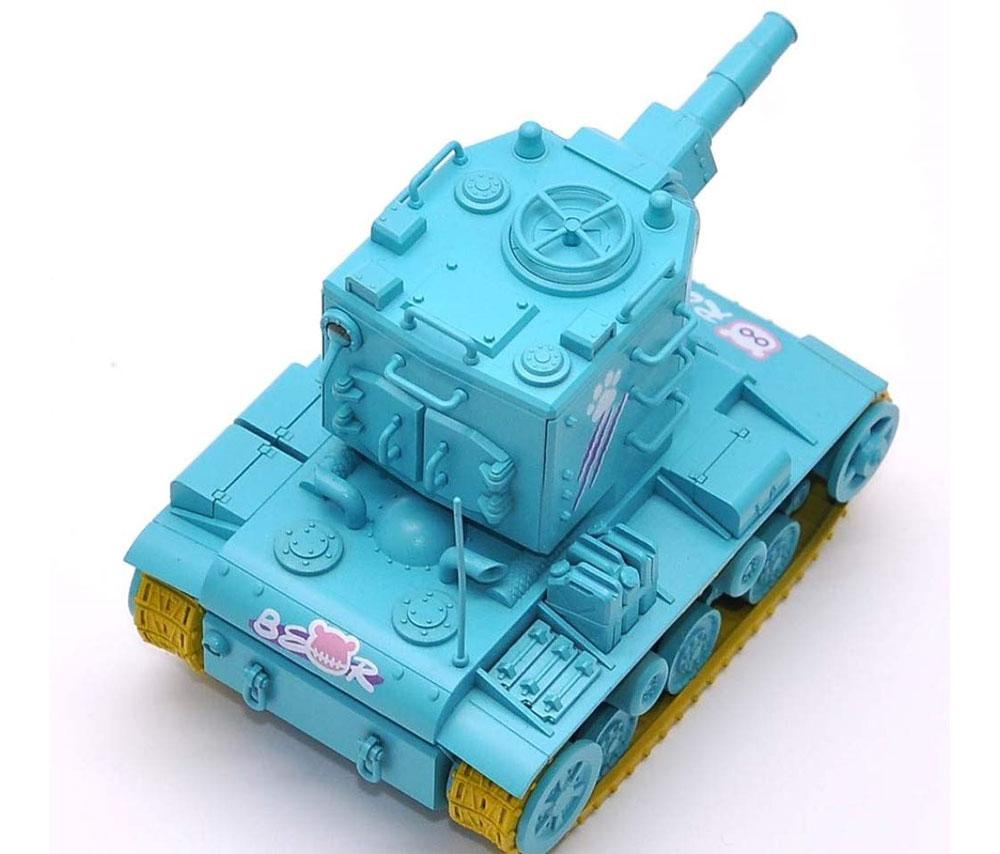 KV-2 ミントグリーンバージョン フィギュア付プラモデル(MENG-MODELWORLD WAR TOONSNo.WWP-004S)商品画像_3