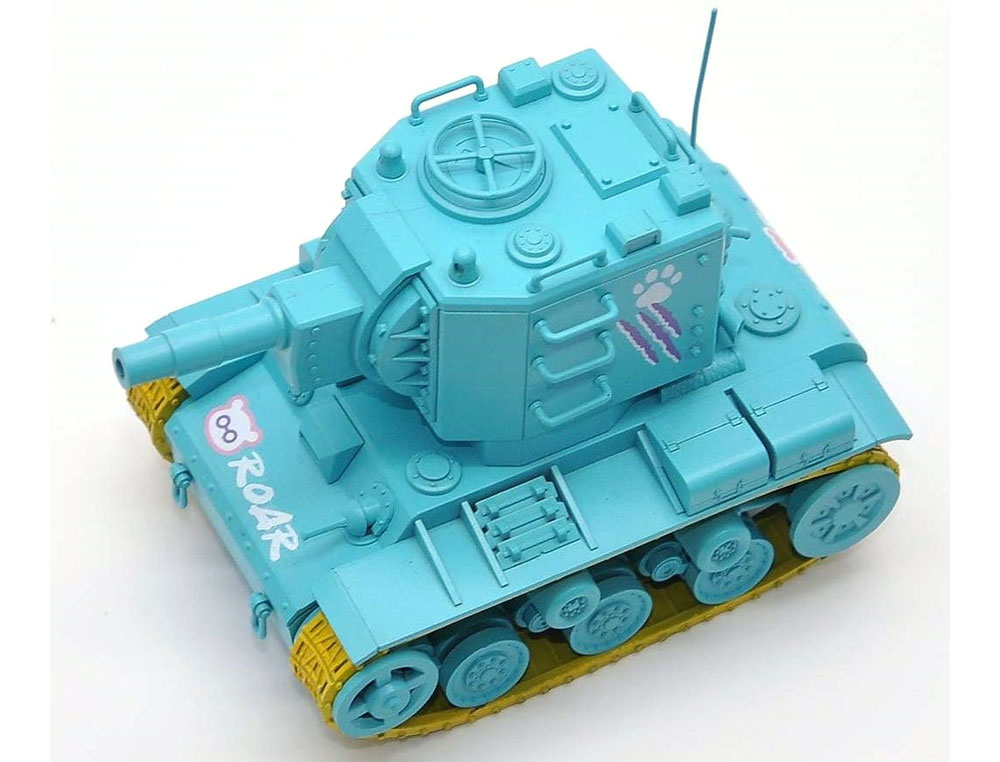 KV-2 ミントグリーンバージョン フィギュア付プラモデル(MENG-MODELWORLD WAR TOONSNo.WWP-004S)商品画像_4
