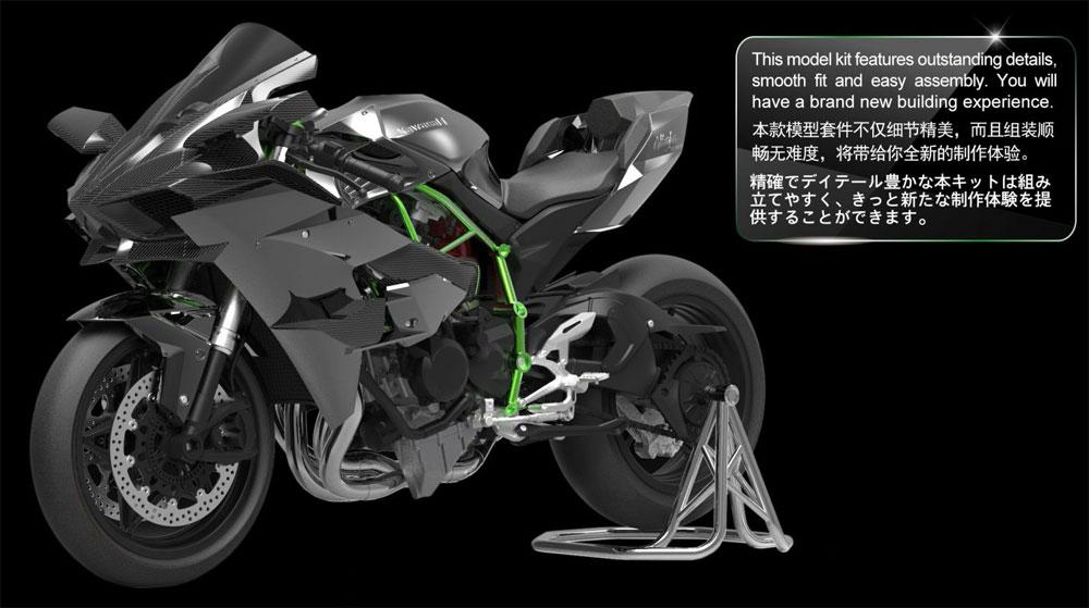 カワサキ ニンジャ H2Rプラモデル(MENG-MODEL1/9 バイクNo.MT-001S)商品画像_1