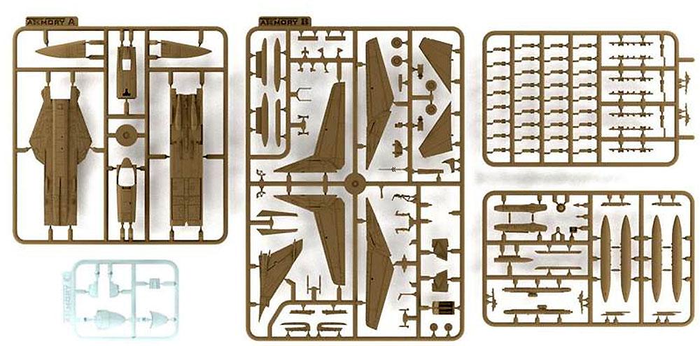 スホーイ Su-24M フェンサーD 旧ソ連諸国プラモデル(ARMORY1/144 エアクラフトNo.14702)商品画像_1