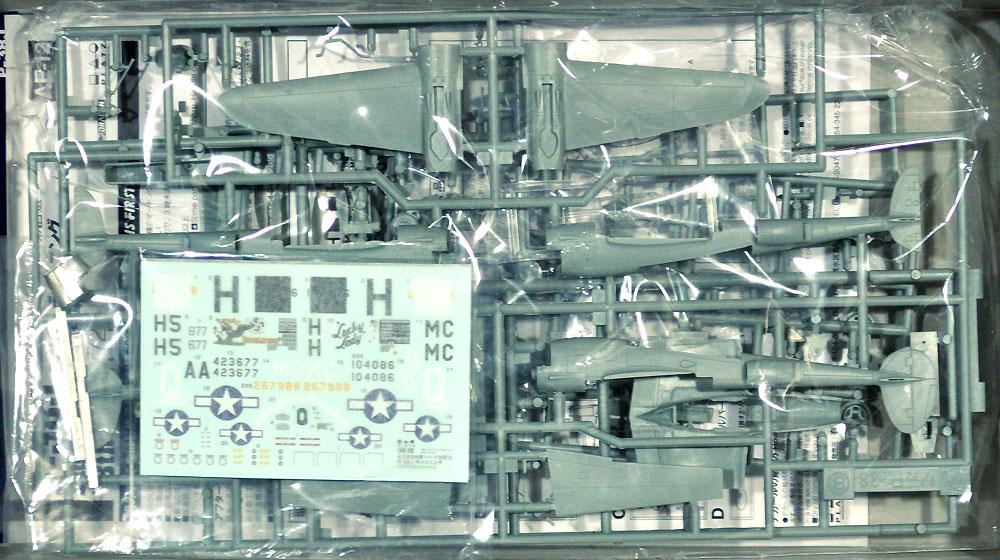 P-38J ライトニング 第8空軍プラモデル(プラッツ航空模型特選シリーズNo.AE-012)商品画像_1