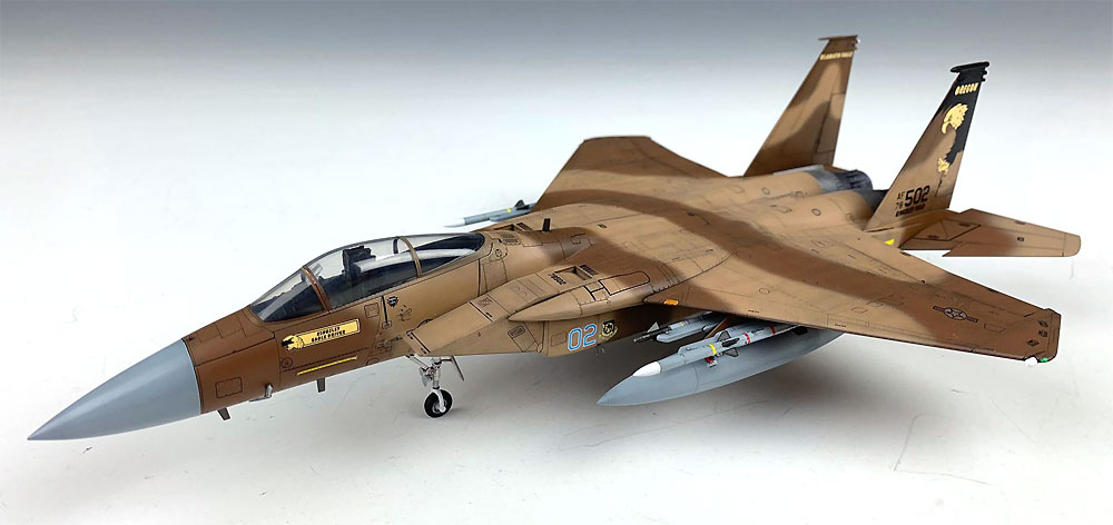 F-15C イーグル MSIP 2 USAF & ANGプラモデル(グレートウォールホビー1/72 エアクラフト プラモデルNo.L7205)商品画像_3