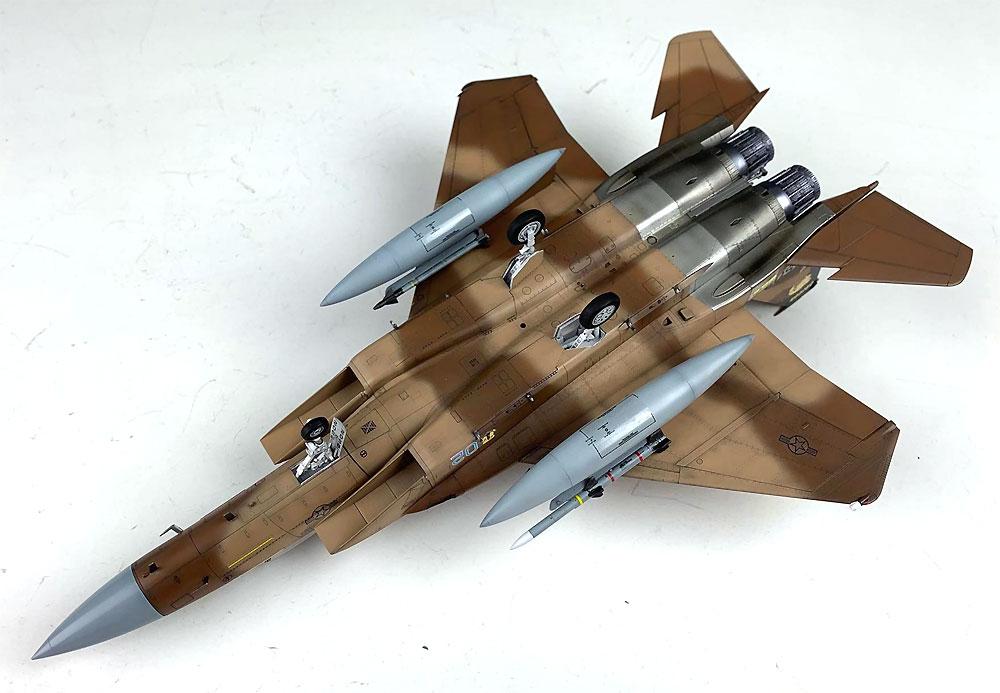 F-15C イーグル MSIP 2 USAF & ANGプラモデル(グレートウォールホビー1/72 エアクラフト プラモデルNo.L7205)商品画像_4