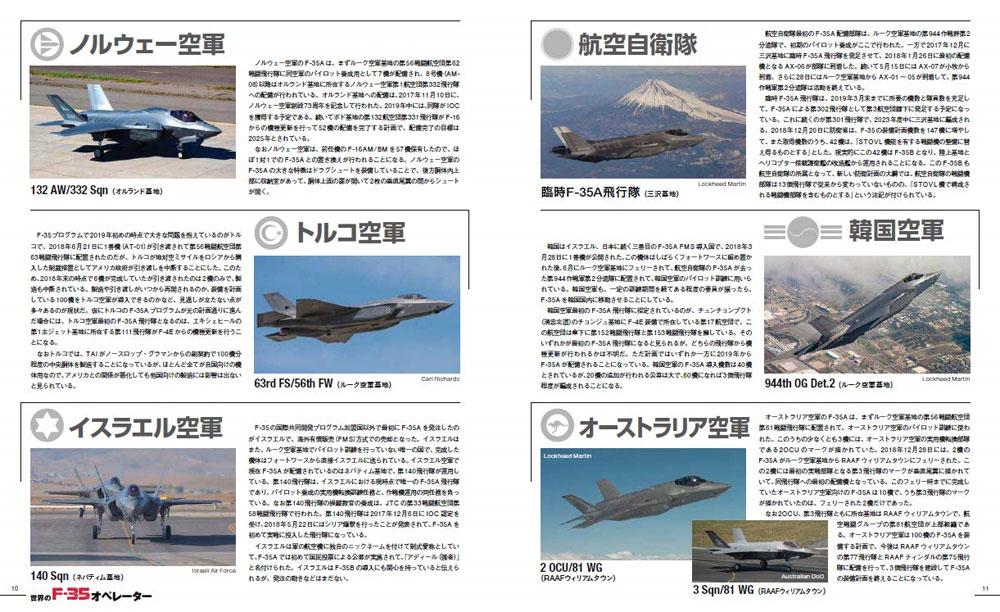 戦闘機年鑑 2019-2020本(イカロス出版イカロスムックNo.61855-48)商品画像_2