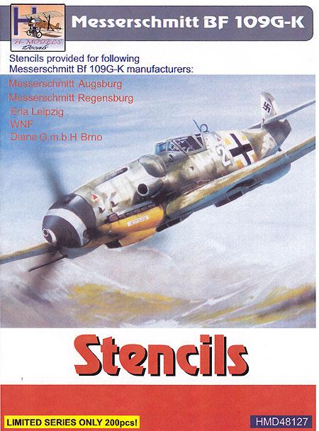 メッサーシュミット Bf109G-K ステンシルデカール(H Model1/48 デカールNo.HDM48127)商品画像