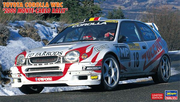 トヨタ カローラ WRC 2000 モンテカルロラリープラモデル(ハセガワ1/24 自動車 限定生産No.20396)商品画像
