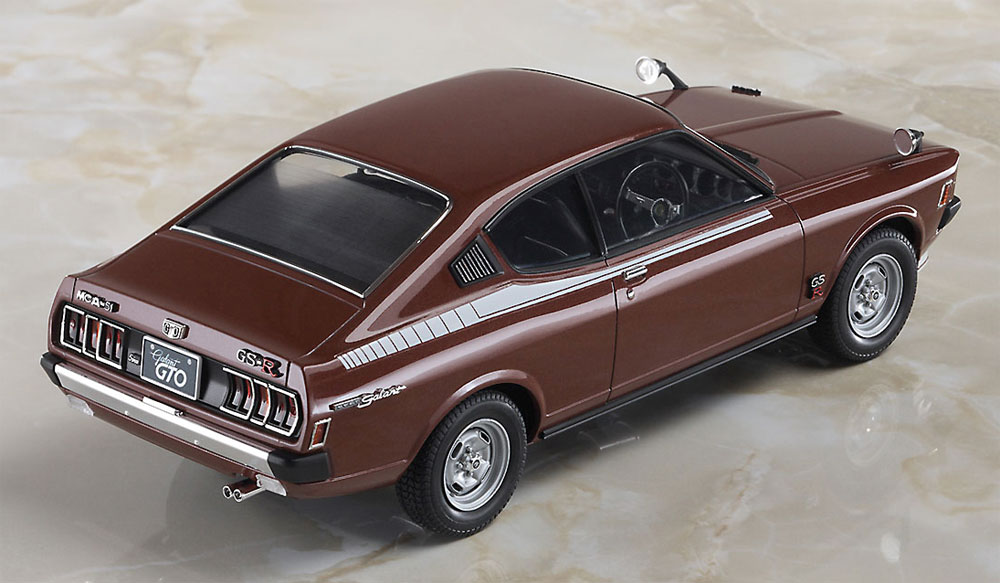 三菱 ギャラン GTO 2000GSR 後期型プラモデル(ハセガワ1/24 自動車 限定生産No.20400)商品画像_3