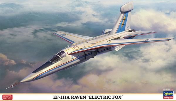 EF-111A レイブン エレクトリック フォックスプラモデル(ハセガワ1/72 飛行機 限定生産No.02300)商品画像