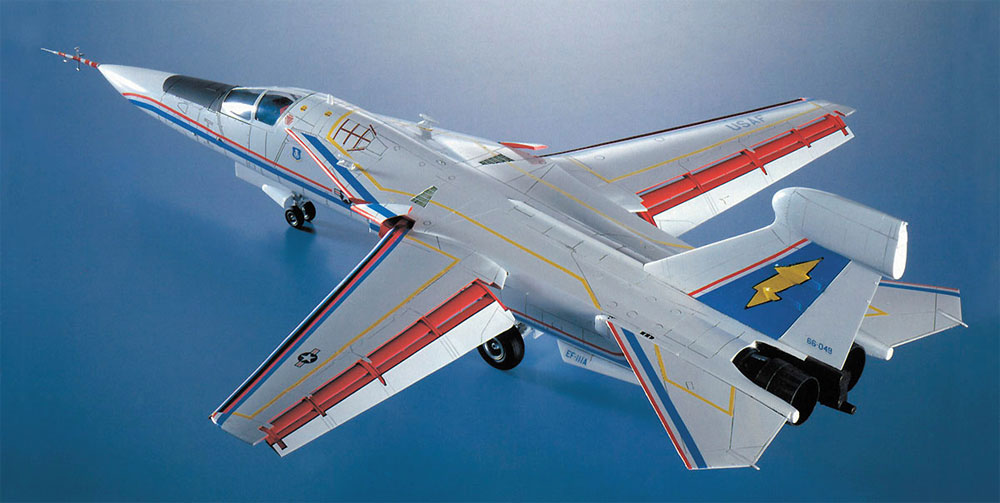 EF-111A レイブン エレクトリック フォックスプラモデル(ハセガワ1/72 飛行機 限定生産No.02300)商品画像_2