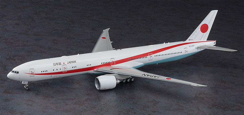 日本政府専用機 ボーイング 777-300ERプラモデル(ハセガワ1/200 飛行機シリーズNo.023)商品画像_2