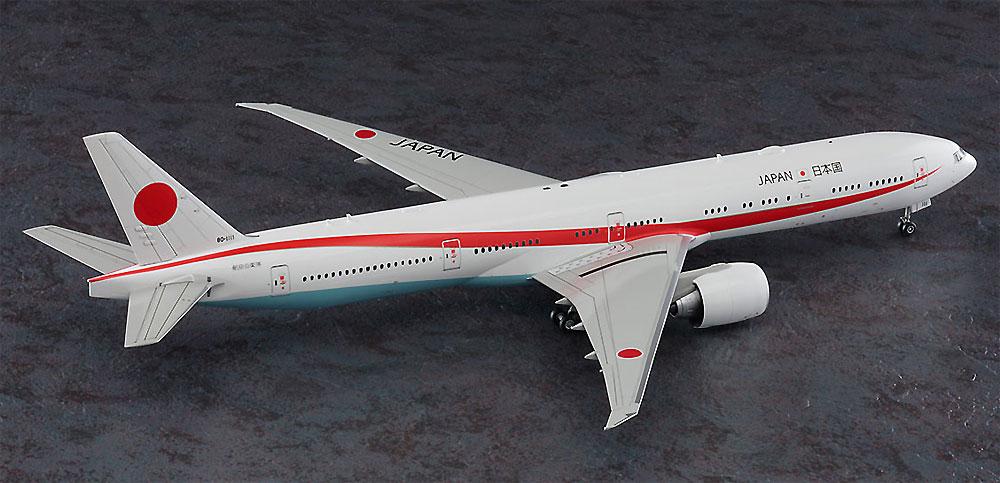 日本政府専用機 ボーイング 777-300ERプラモデル(ハセガワ1/200 飛行機シリーズNo.023)商品画像_3