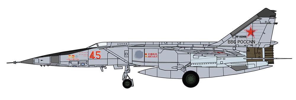 ミグ 25RBT フォックスバット ロシア空軍プラモデル(ハセガワ1/72 飛行機 限定生産No.02304)商品画像_2