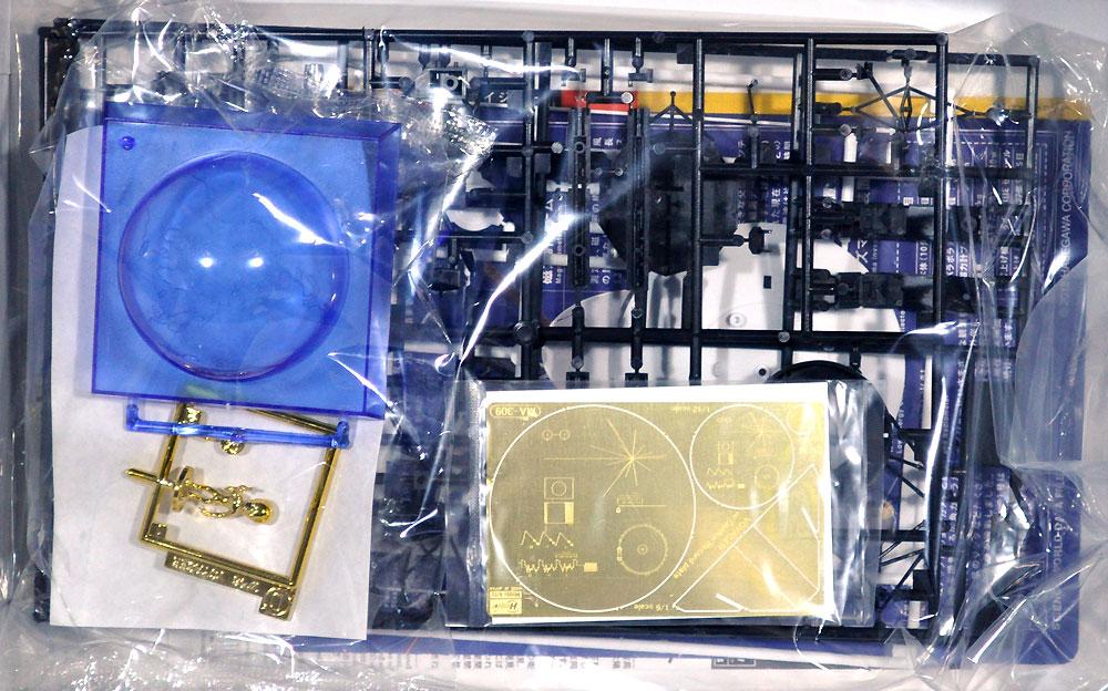 無人宇宙探査機 ボイジャー w/ゴールデンレコード プレートプラモデル(ハセガワサイエンスワールド シリーズNo.SP406)商品画像_1