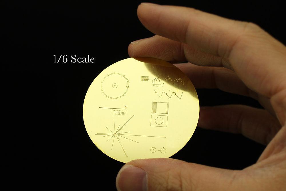 無人宇宙探査機 ボイジャー w/ゴールデンレコード プレートプラモデル(ハセガワサイエンスワールド シリーズNo.SP406)商品画像_3