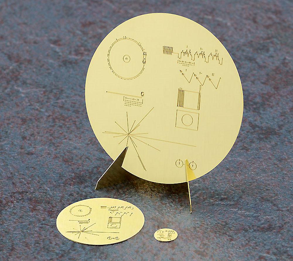 無人宇宙探査機 ボイジャー w/ゴールデンレコード プレートプラモデル(ハセガワサイエンスワールド シリーズNo.SP406)商品画像_4