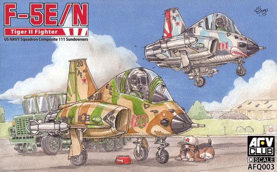 F-5E/N タイガー 2 VFC-111 サンダウナーズプラモデル(AFV CLUBディフォルメ飛行機 QシリーズNo.AFQ003)商品画像