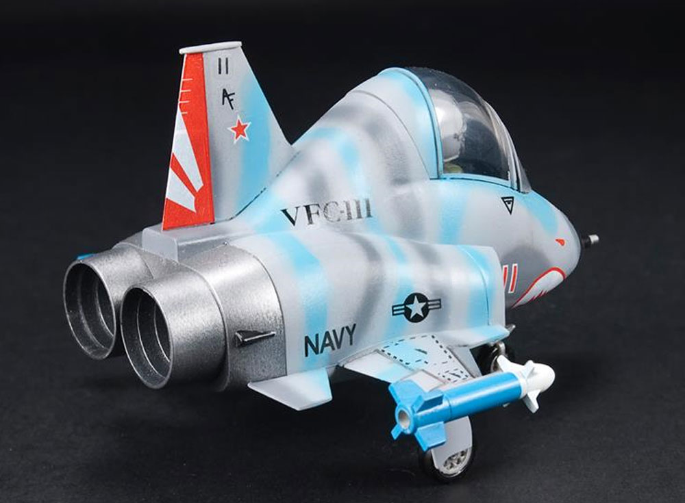 F-5E/N タイガー 2 VFC-111 サンダウナーズプラモデル(AFV CLUBディフォルメ飛行機 QシリーズNo.AFQ003)商品画像_3