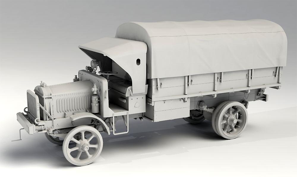 WW1 アメリカ陸軍 トラック スタンダード B リバティ シリーズ 2プラモデル(ICM1/35 ミリタリービークル・フィギュアNo.35651)商品画像_2