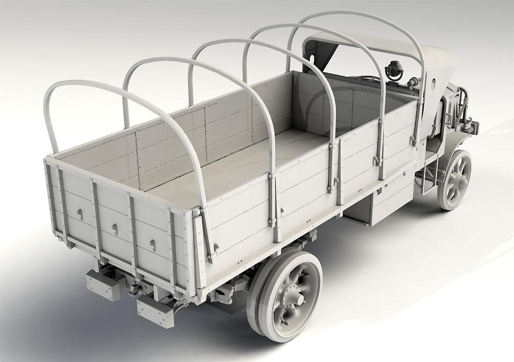 WW1 アメリカ陸軍 トラック スタンダード B リバティ シリーズ 2プラモデル(ICM1/35 ミリタリービークル・フィギュアNo.35651)商品画像_3