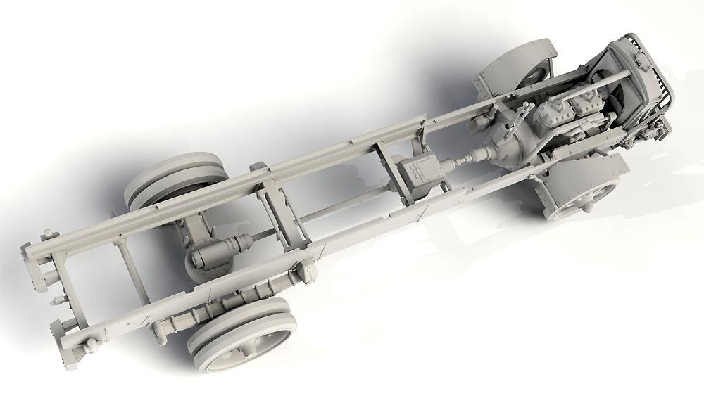 WW1 アメリカ陸軍 トラック スタンダード B リバティ シリーズ 2プラモデル(ICM1/35 ミリタリービークル・フィギュアNo.35651)商品画像_4
