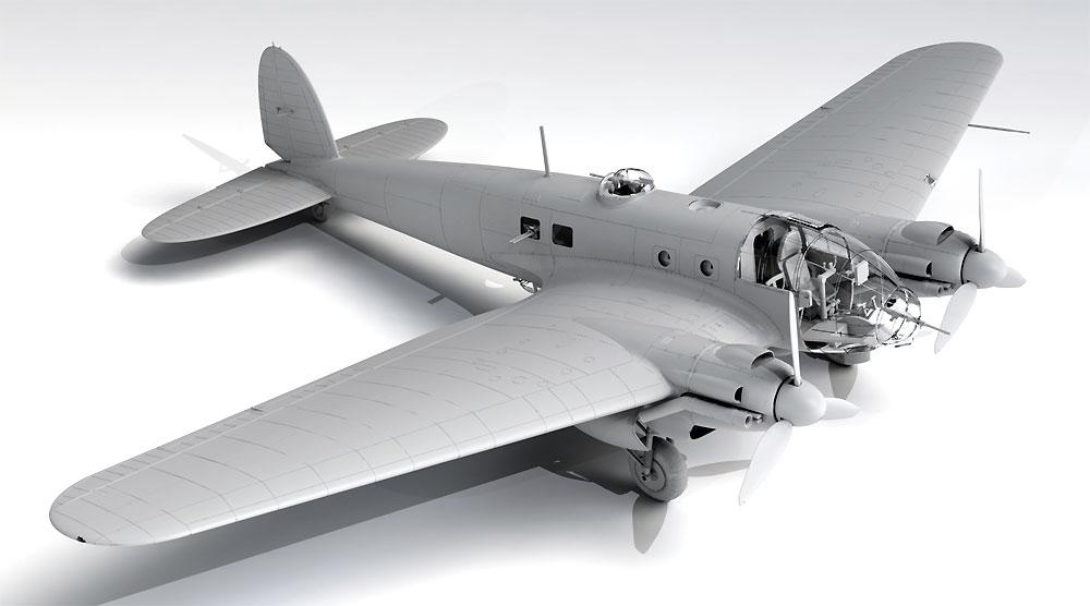 ハインケル He111H-20 爆撃機プラモデル(ICM1/48 エアクラフト プラモデルNo.48264)商品画像_2