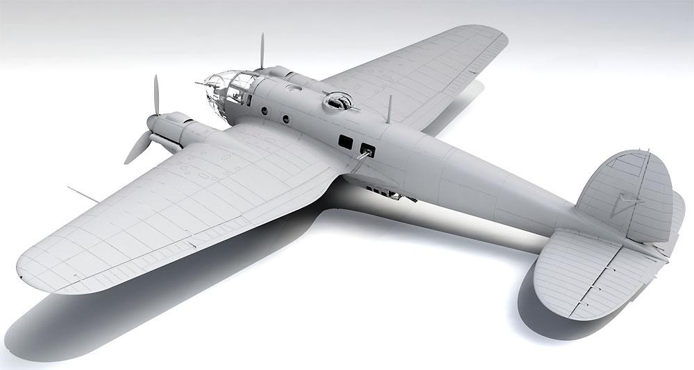 ハインケル He111H-20 爆撃機プラモデル(ICM1/48 エアクラフト プラモデルNo.48264)商品画像_3