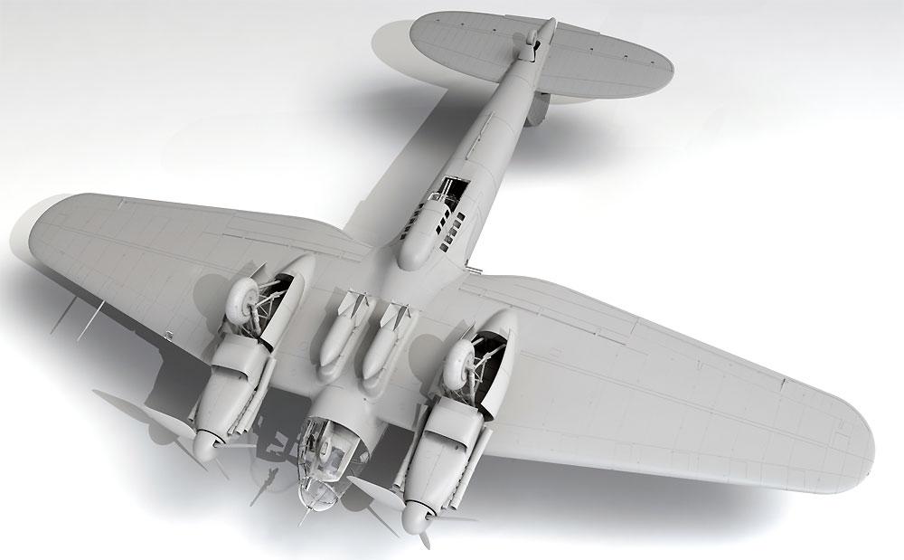 ハインケル He111H-20 爆撃機プラモデル(ICM1/48 エアクラフト プラモデルNo.48264)商品画像_4