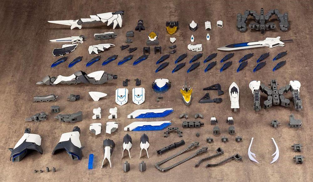 ルシファーズウイングプラモデル(コトブキヤギガンティックアームズNo.GT007)商品画像_1