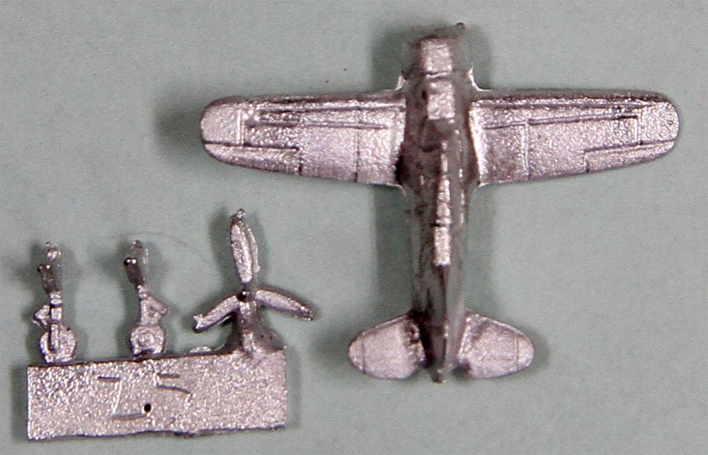 WW2 米国軍用機 2 スペシャル メタル製 F2A バッファロー 3機付きプラモデル(ピットロードスカイウェーブ S シリーズ (定番外)No.S043SP)商品画像_1