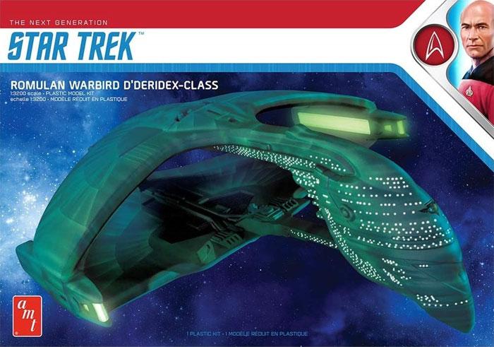 ロミュラン ウォーバード ディデリデクスクラスプラモデル(amtスタートレック(STAR TREK)シリーズNo.AMT1125M/12)商品画像