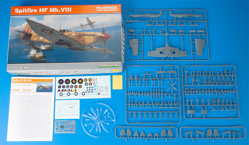 スピットファイア HF Mk.8プラモデル(エデュアルド1/72 プロフィパックNo.70129)商品画像_1