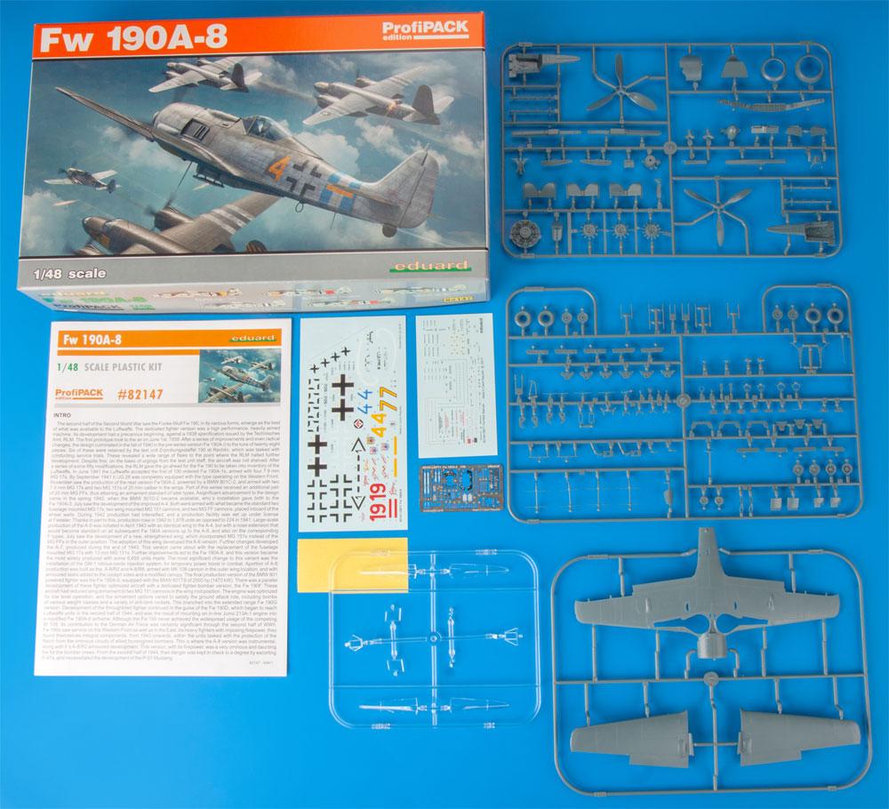 フォッケウルフ Fw190A-8プラモデル(エデュアルド1/48 プロフィパックNo.82147)商品画像_1