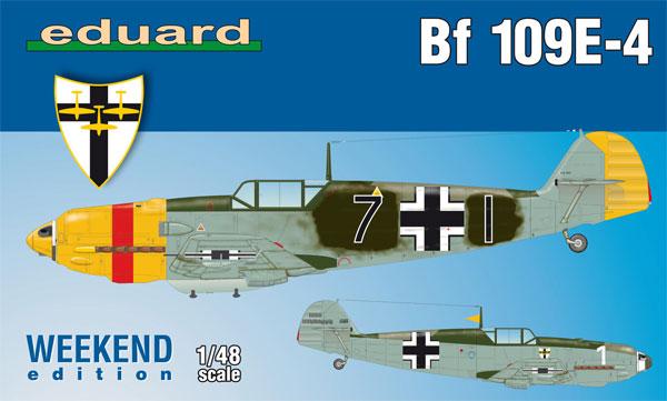 メッサーシュミット Bf109E-4プラモデル(エデュアルド1/48 ウィークエンド エディションNo.84153)商品画像
