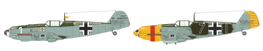 メッサーシュミット Bf109E-4プラモデル(エデュアルド1/48 ウィークエンド エディションNo.84153)商品画像_2